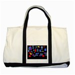 Contempt Two Toned Tote Bag