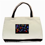 Contempt Twin-sided Black Tote Bag
