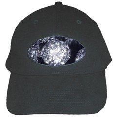 15661082 Shiny Diamonds Background Black Baseball Cap by StephentKent