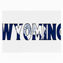 Wyoming Glasses Cloth (large) by worldbanners