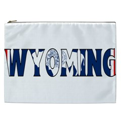 Wyoming Cosmetic Bag (xxl) by worldbanners