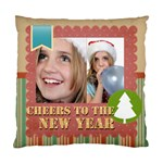 new year - Standard Cushion Case (Two Sides)