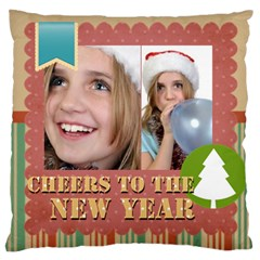 New Year By New Year   Large Cushion Case (two Sides)   Rguqqton5crx   Www Artscow Com Back