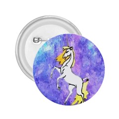 Framed Unicorn 2 25  Button by mysticalimages