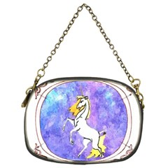 Framed Unicorn Chain Purse (two Side) by mysticalimages