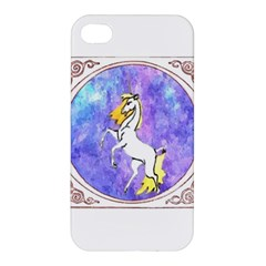 Framed Unicorn Apple Iphone 4/4s Premium Hardshell Case by mysticalimages