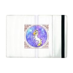 Framed Unicorn Apple Ipad Mini Flip Case by mysticalimages