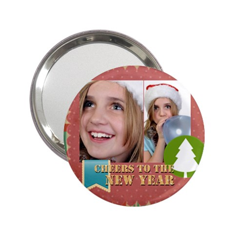 New Year By New Year   2 25  Handbag Mirror   D5ge4yak93fx   Www Artscow Com Front