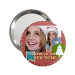 new year - 2.25  Handbag Mirror