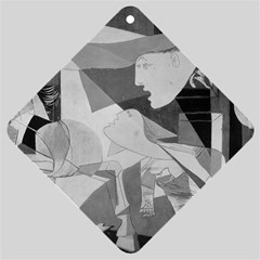 Pablo Picasso - Guernica Round Car Window Sign by demovip