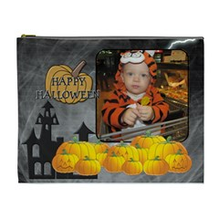 Happy Halloween Xl Cosmetic Bag By Lil    Cosmetic Bag (xl)   I8lp19exbfs6   Www Artscow Com Front