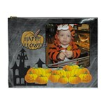 Happy Halloween XL Cosmetic Bag - Cosmetic Bag (XL)