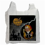 Happy Halloween Treat Bag - Recycle Bag (One Side)