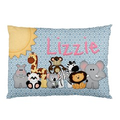 Lizzie Pillowcase By Debbie   Pillow Case (two Sides)   7ut1rp0n01km   Www Artscow Com Back