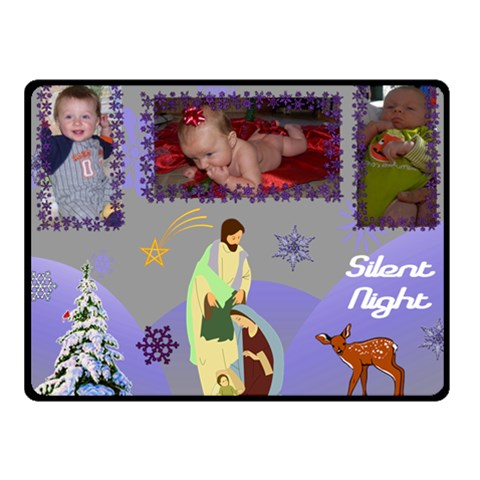 Silent Night Small Blanket By Joy Johns   Fleece Blanket (small)   Vt8j183khnbl   Www Artscow Com 50 x40 Blanket Front