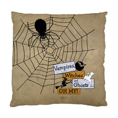 Halloween Cushion Case (2 Sides) By Lil    Standard Cushion Case (two Sides)   0zoe9fgfpc1b   Www Artscow Com Back