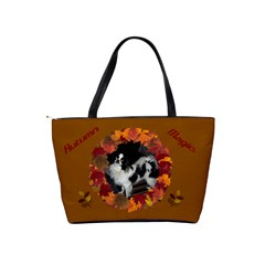 Autumn Magic Shoulder Handbag By Joy Johns   Classic Shoulder Handbag   Peakx33z8ivh   Www Artscow Com Back