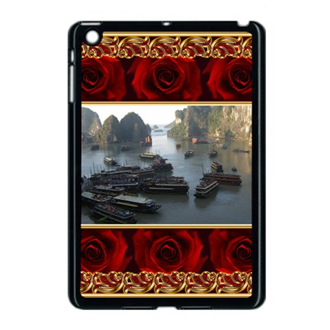 Rose Apple Ipad Mini Case (black) By Deborah   Apple Ipad Mini Case (black)   Yckut81n8b53   Www Artscow Com Front