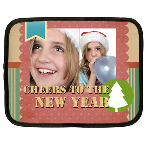 New Year By New Year   Netbook Case (xxl)   2i8jp9nojvjh   Www Artscow Com Front