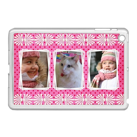 Princess Apple Ipad Mini Case (white) By Deborah   Apple Ipad Mini Case (white)   X1m3sqxbvuw0   Www Artscow Com Front