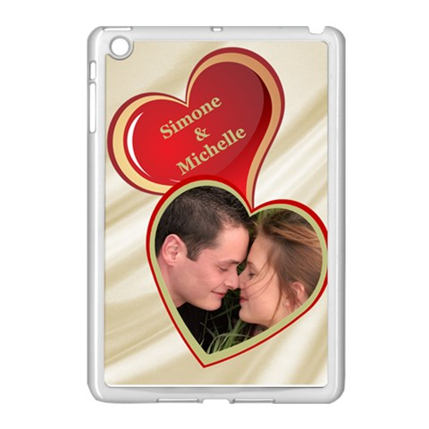 My Heart Apple Ipad Mini Case (white) By Deborah   Apple Ipad Mini Case (white)   H7rcx5vm2oxw   Www Artscow Com Front