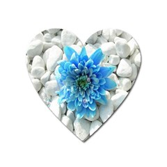 Blue Magnet (Heart)