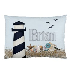 Brian Cabin Pillowcase By Debbie   Pillow Case (two Sides)   Y4w32eodbng6   Www Artscow Com Front