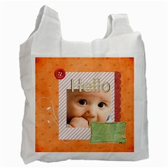 Baby By Joely   Recycle Bag (two Side)   Avscj848771g   Www Artscow Com Front
