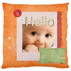 Baby By Joely   Large Cushion Case (two Sides)   L8iry3g4oe8k   Www Artscow Com Front