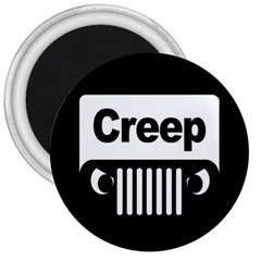 Creep Logo 3  Button Magnet by Contest1703156