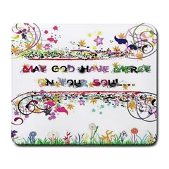 May God Have Mercy On Your Soul Large Mouse Pad (rectangle) by Contest1703156