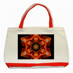 Smoke Art 1 Classic Tote Bag (red) by smokeart