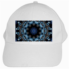 Smoke Art 2 White Baseball Cap