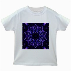 Smoke Art (2) Kids' T Shirt (white)