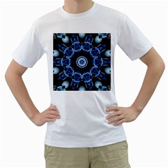Abstract Smoke  (3) Mens  T Shirt (white)