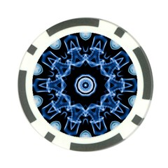 Abstract Smoke  (3) Poker Chip 10 Pack