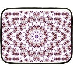 Abstract Smoke  (4) Mini Fleece Blanket (two Sided) by smokeart