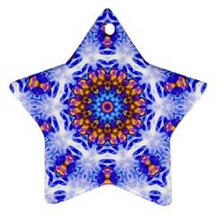 Smoke Art  (6) Star Ornament by smokeart