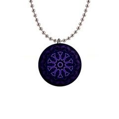 Smoke Art (7) Button Necklace