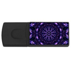 Smoke Art (7) 4gb Usb Flash Drive (rectangle)