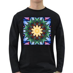 Smoke Art  (9) Mens' Long Sleeve T Shirt (dark Colored)