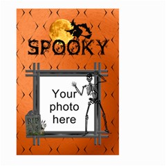 Spooky Halloween Large Garden Flag (2 Sided) By Lil    Large Garden Flag (two Sides)   0ul7fderh9hd   Www Artscow Com Front