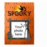 Spooky Halloween Large Garden Flag (2 Sided) - Large Garden Flag (Two Sides)