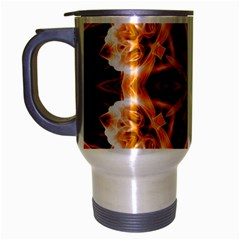 Smoke Art (12) Travel Mug (silver Gray) by smokeart
