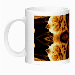 Smoke Art (12) Glow In The Dark Mug by smokeart