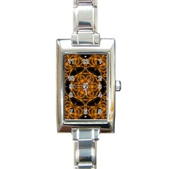 Smoke Art (14) Rectangular Italian Charm Watch by smokeart
