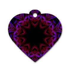 Smoke Art  (15) Dog Tag Heart (two Sided) by smokeart