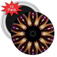 Smoke Art (17) 3  Button Magnet (10 Pack) by smokeart