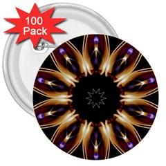 Smoke Art (17) 3  Button (100 Pack) by smokeart