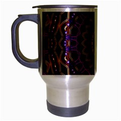 Smoke art (18) Travel Mug (Silver Gray) by smokeart